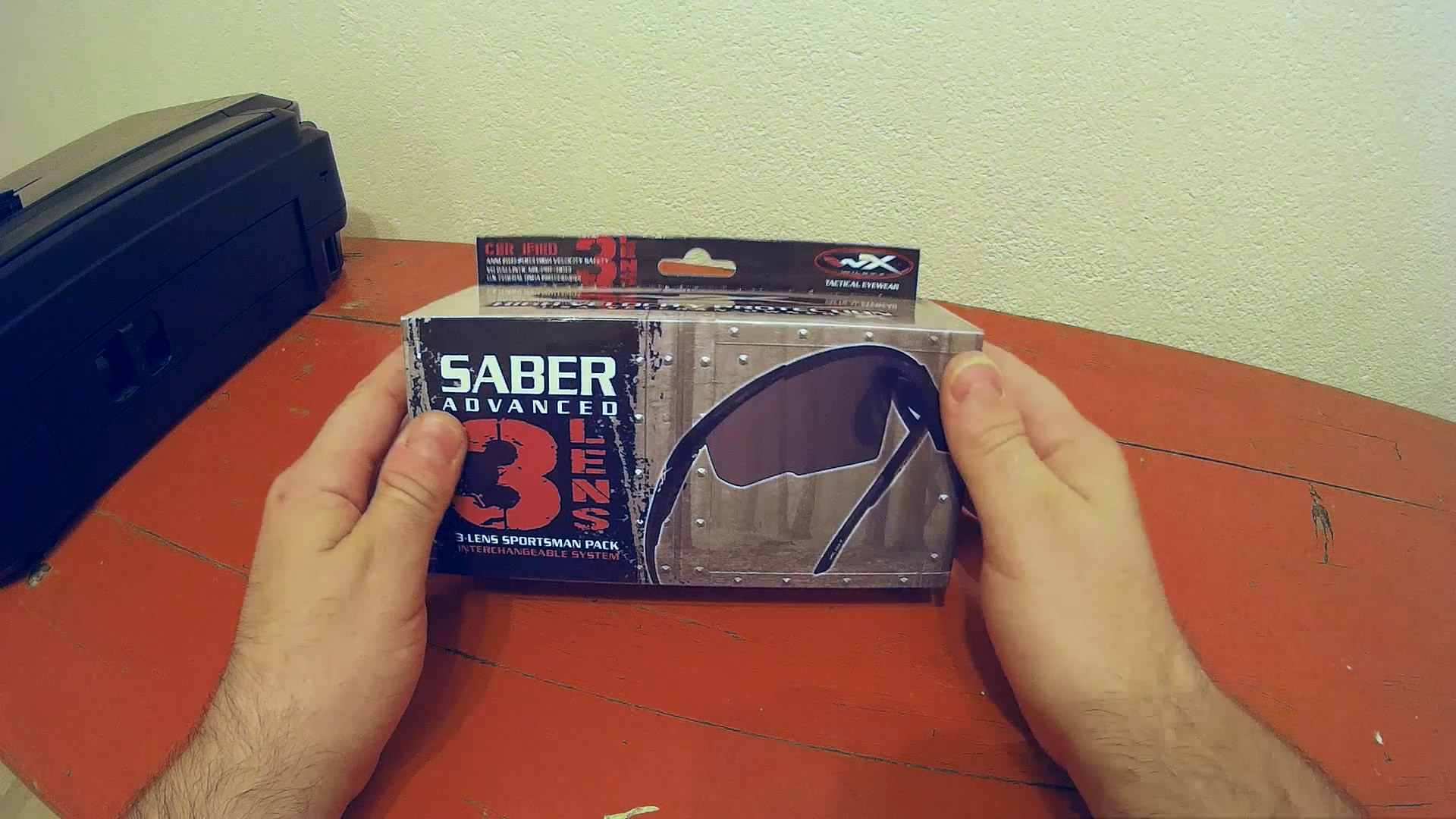 Wiley X Saber Advanced – Ballistische Schutzbrille – Unboxing
